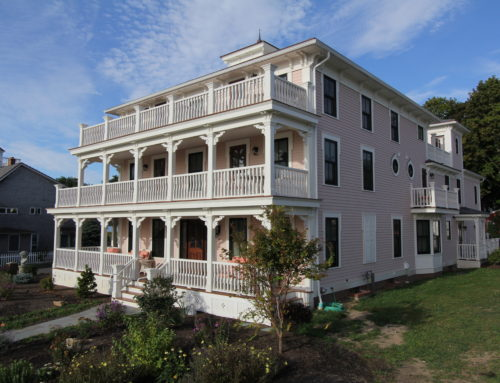 Three Stories Guest House At Saybrook Point Inn